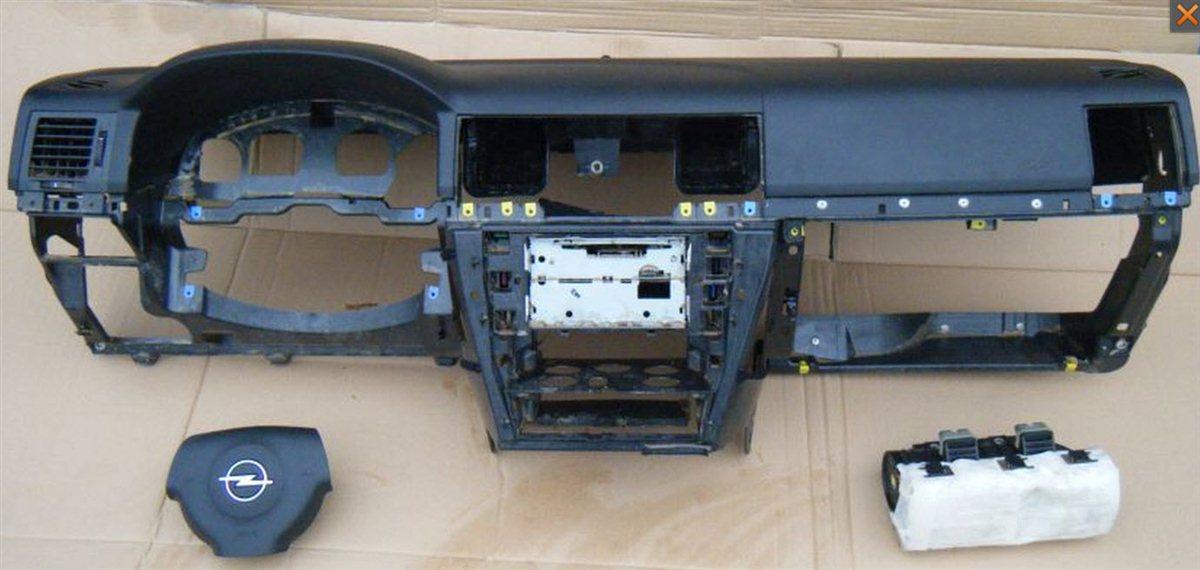 opel vectra c armaturenbrett mit airbag satz lenkrad. Black Bedroom Furniture Sets. Home Design Ideas