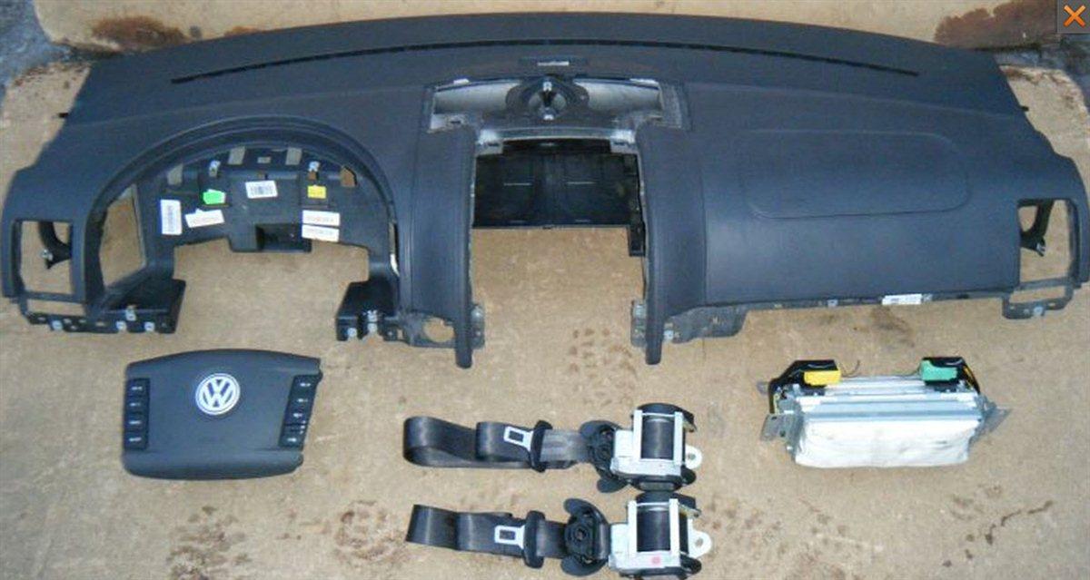 vw touareg 10 armaturenbrett airbag satz lenkrad. Black Bedroom Furniture Sets. Home Design Ideas