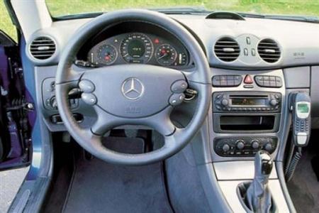 Armaturenbrett mercedes  Mercedes CLK W 208 Armaturenbrett Airbag Satz